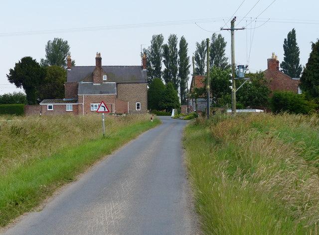 Sandholme Lane in Sandholme