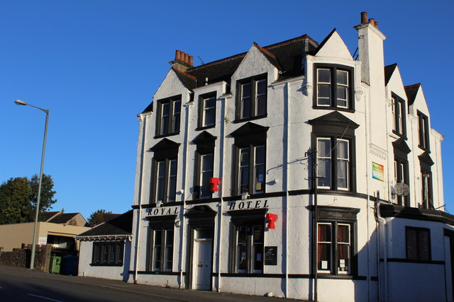 Royal Hotel, High Street, Bonnybridge