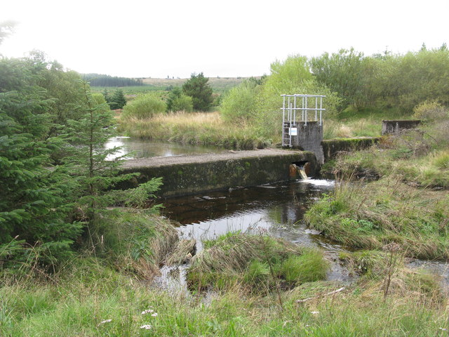 Dam on the River Stinchar