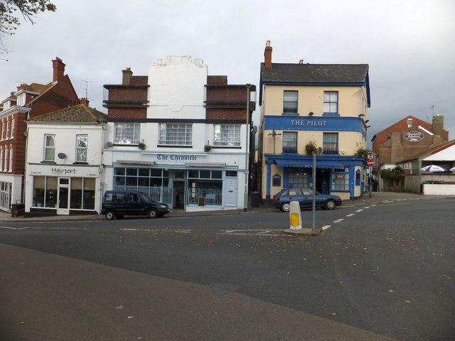Business buildings, St Andrew's Road, Exmouth