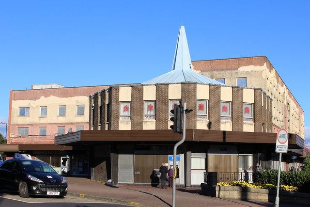 Corner of Duke Street & Stirling Street, Denny