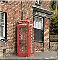 "J1148 : ""K"" telephone box, Lenaderg : Week 42"