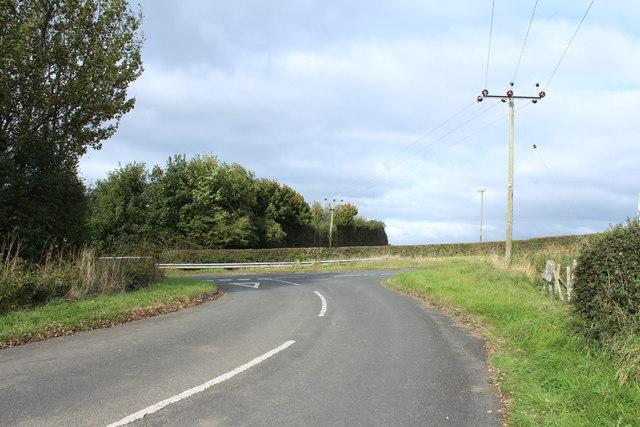 Craiksland Road near Loans