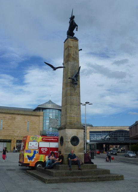 Mercat cross, Eastgate Shopping Centre