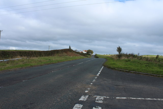 Road to Dundonald near Loans