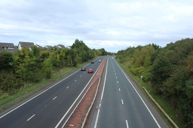 A78 Towards Irvine near Loans