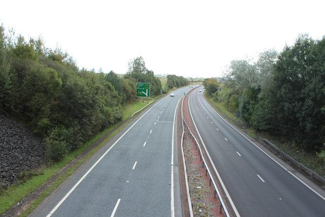 A78 Towards Ayr near Loans