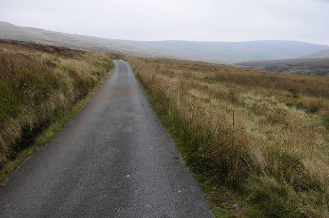 Mountain road Waun y Gadfa