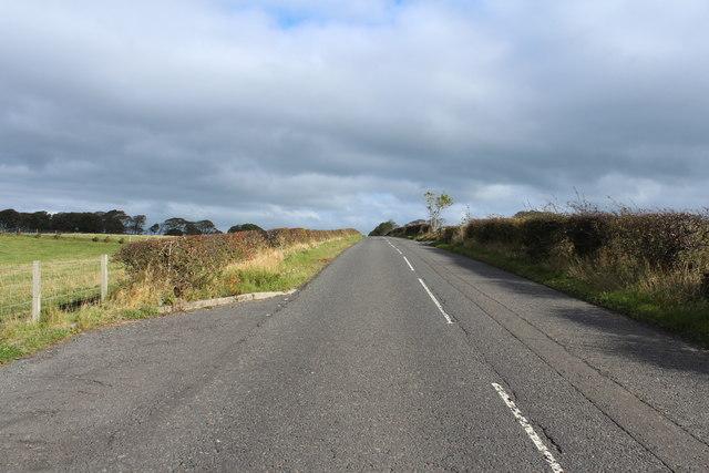Road to Dundonald near Harpercroft