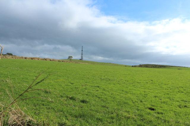 Farmland near Wardlaw Hill