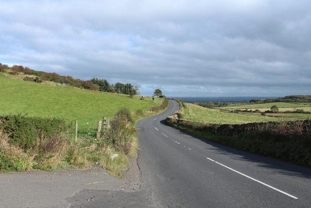 Road to Dundonald near Hallyards