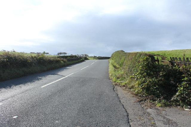 Road to Loans near Wardlaw Hill