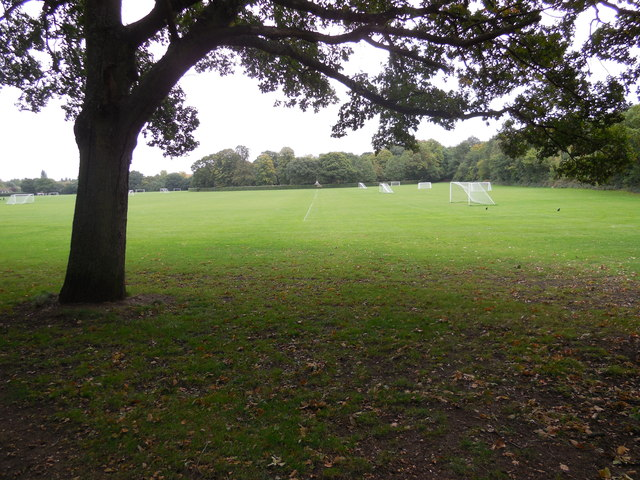Kingston University sports field