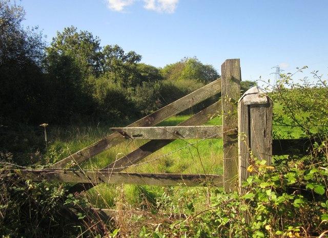 Gate on Cock's Lake Lane