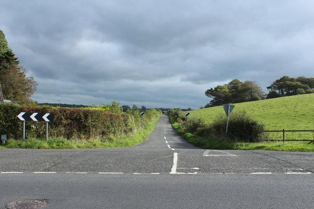 Road to Symington near Dundonald