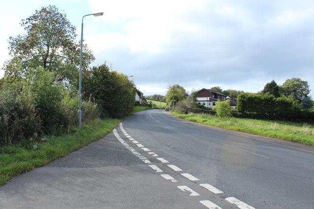Road to Loans near Dundonald