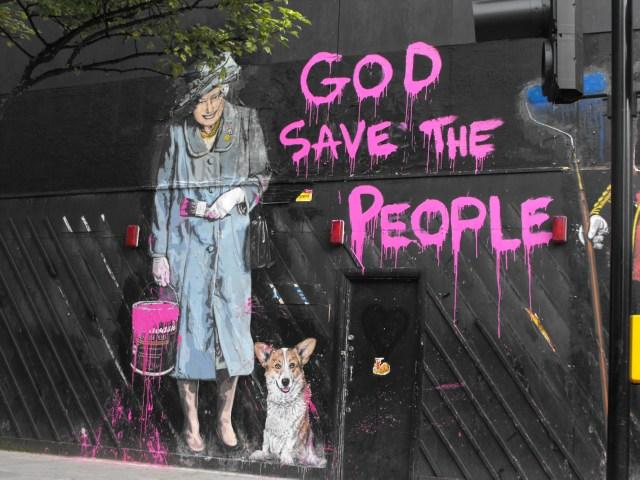 Graffito - New Oxford Street