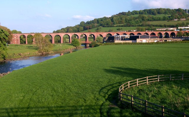 Railway Viaduct Whalley