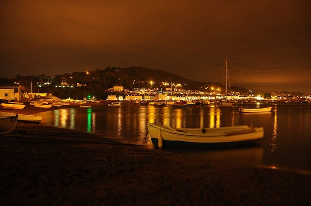 Teignmouth : Teignmouth Harbour
