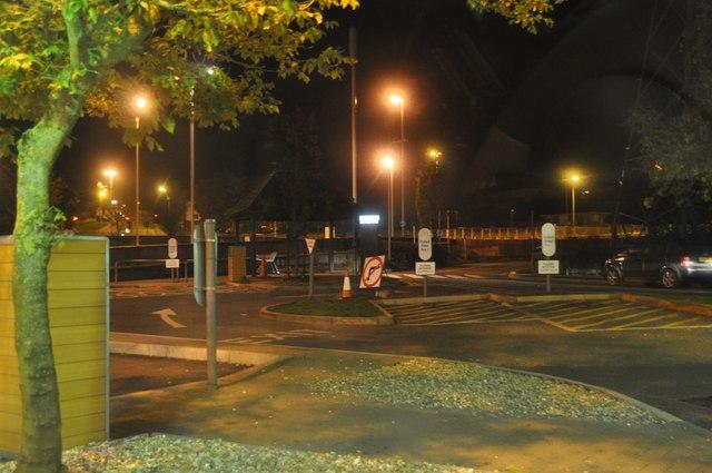 Newton Abbot : McDonald's Car Park