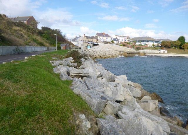 Weymouth, coastal defences