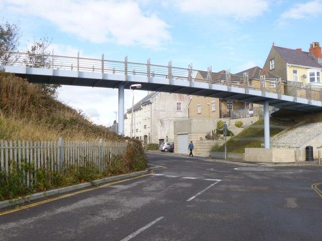 Weymouth, footbridge