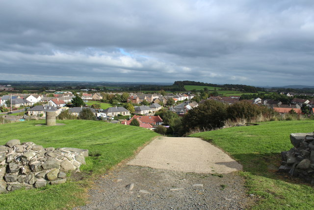 Path to the Visitor Centre from the Castle, Dundonald
