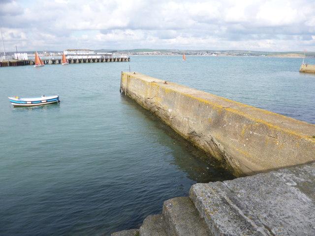 Weymouth, breakwater