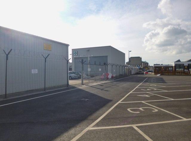 Weymouth, customs hall