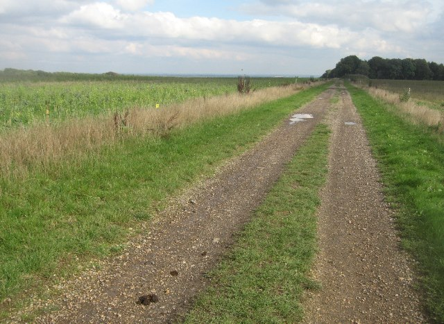 Farm track from Hannington