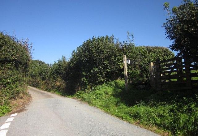 Lane junction, Notter