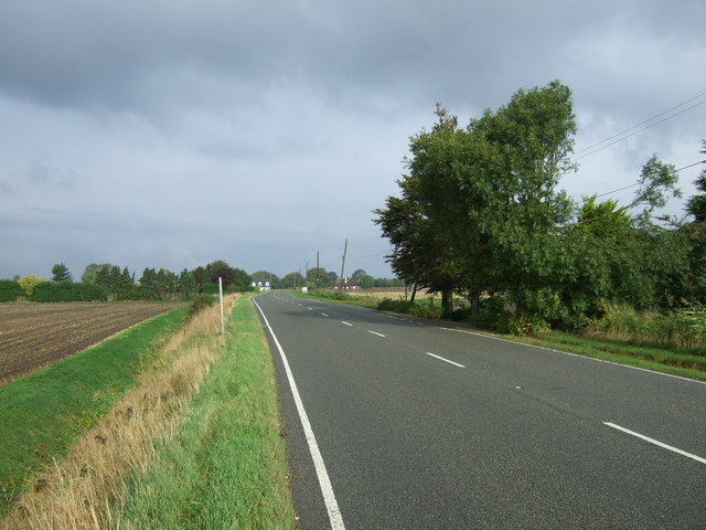 A151 heading north west