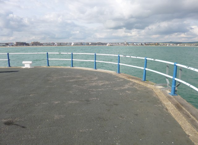 Weymouth, end of pier