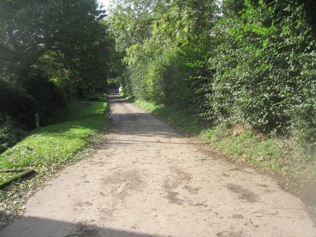 Lane into Hannington village