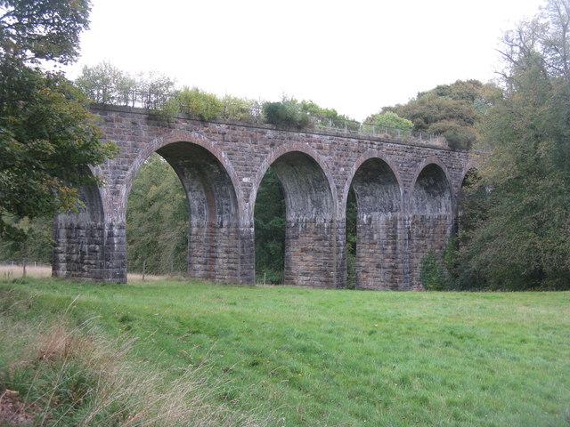 Railway viaduct at Auchendinny