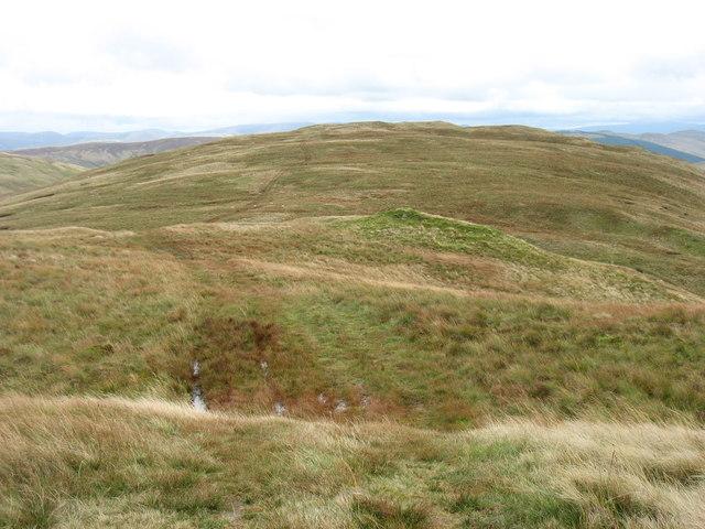 The ridge to Robin Hood