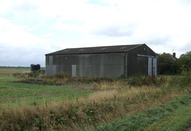 Farm building off Black Hole Drove