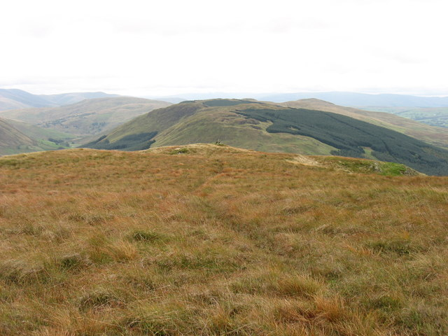 The summit of High House Bank