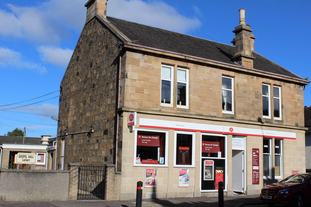 Gospel Hall & Post Office, Main Street, Larbert
