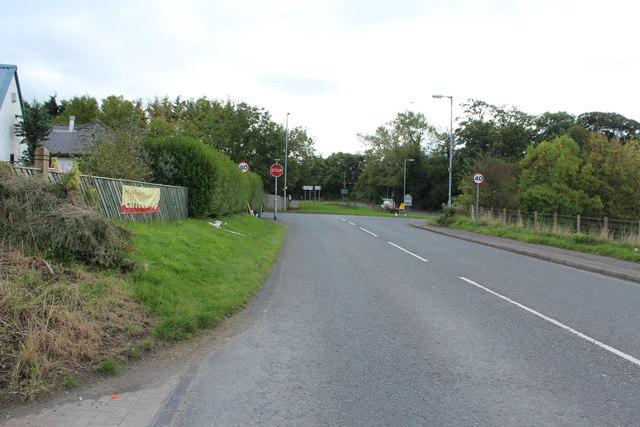 The B730 to Dundonald