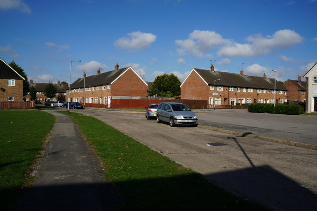 Wexford Avenue at Chelmsford Close  Greatfield Estate