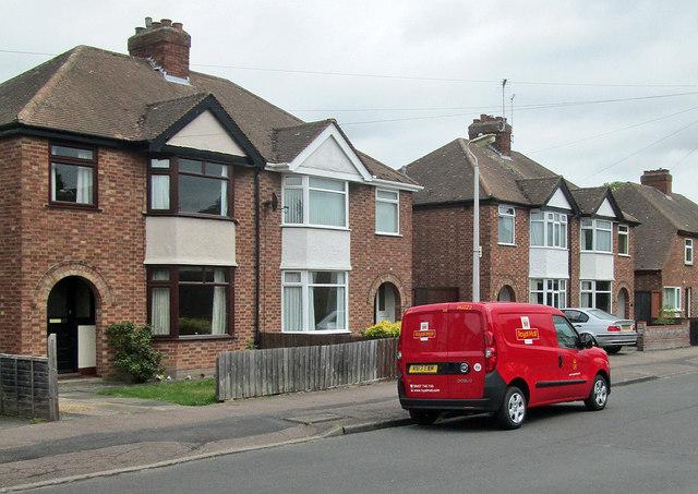 The postman's new van