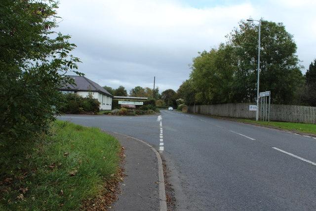 The A759 to Kilmarnock near Dundonald