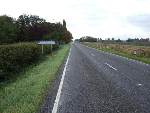 Entering South Kesteven