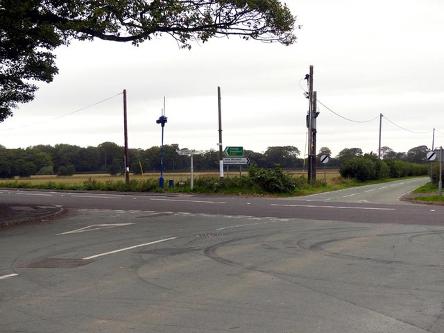 A565 and Long Lane junction