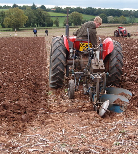 Competition ploughing
