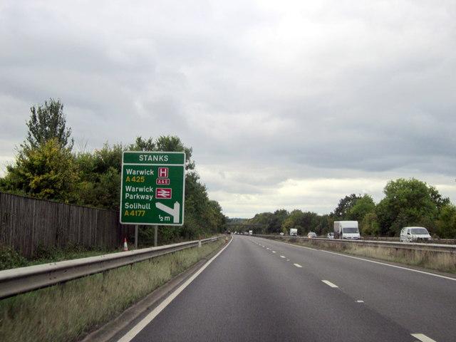 Stanks Warwick By-Pass A46