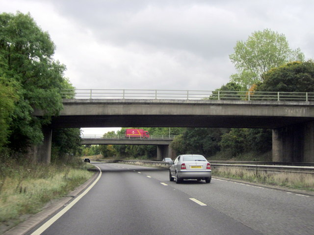 A425 A4177 Island Over the Warwick By-Pass