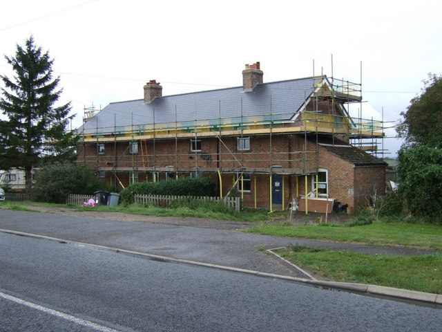 Cottages being repaired, Twenty