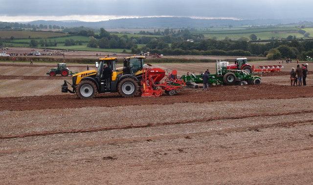 Modern farming equipment